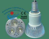 ZG-XM-E14(3*1W) led highpower spot lighting