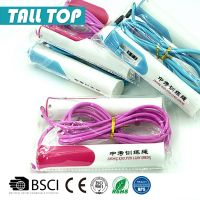 wholesale exercise training PVC speed skipping jump rope with counter for kids