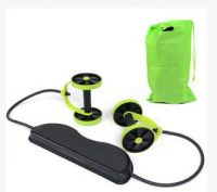 Professional Safe mutil-function Dual Wheels Roller exercise Resistance Pull Rope