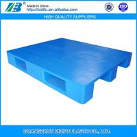 1200*1000 4 Ways Entry Standard euro 100% Virgin HDPE food grade single-faced Plastic Pallet Manufacturers