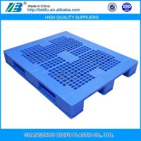 1200x1000 1 ton heavy duty steel reinforced warehouse racking plastic pallet