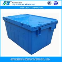 Blue Agriculture Moving and Shipping Plastic Crate China Factory