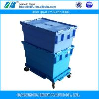 Large Solid High Quanlity Plastic Crate box container for Fruit moving or Storage