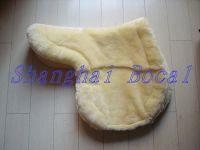 sheepskin saddle pad
