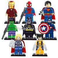 hot sale ABS plastic minifigures blocks with 8 styles