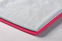 Microfiber warp knitted cloth for cleaning