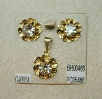 SET COSTUME JEWELRY GOLD FILLED