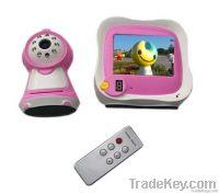 Hotsale 3.5 inch wireless baby monitor lovely looking