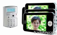 wholesale large screen 7 inch wired video intercom systerm