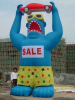 Inflatable Gorilla with Blower 4 Advertising Sale Promotions