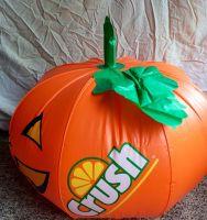 Orange Crush Giant Jack-O-Lantern Inflatable Collectable Advertising Man Cave