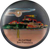 Alcatrez Brass plate