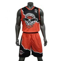 V-Neck Basketball uniform | Basketball uniform Customised Digital / sublimation Printed | Team basketball uniform
