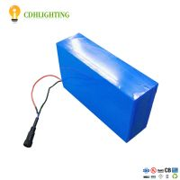 Solar Energy 3S25P ICR18650 11.1V 65Ah rechargerable battery
