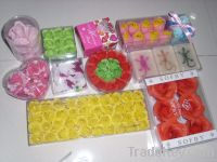 refreshing SPA Flower Soap (Bath Confetti, Paper soap)