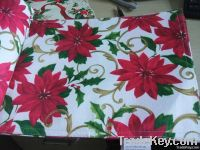 100% polyester printing bamboo table runner and place mat
