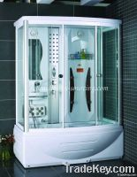 Glass Sauna Room