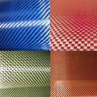 carbon fiber hybrid fabric kevlar carbon fiber colorful carbon cloth