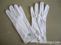 cotton white glove