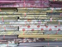 scrap  wasted paper used heat transfer printing paper for flower   packaging paper