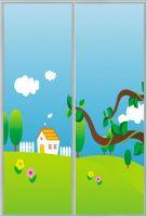 High gloss uv mdf board for closet sliding door
