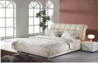 leather bed P012