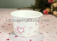13oz disposable food containers, ice cream containers
