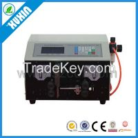 Automatic wire cable cutting and stripping machine X-502HT