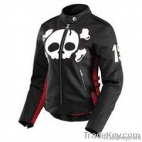icon hella crossbone women leather jacket