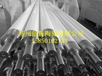 ceramic roller for glass tempering