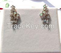 opal jewelry earing E13