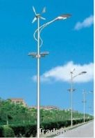 100W LED solar wind hybrid street light