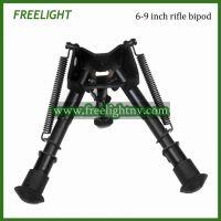 6-9 inch Harris Style bipod Adjustable legs Hinged base hunting rifle bipod