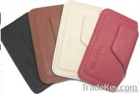 2012 New LEATHER Case For Iphone5 Case, Dull Polish Case For Iphone5