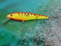 fishing minnow jointed lure bait