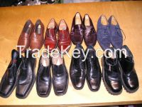 new and newly men's leather shoes, sizes mix