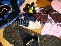 premium WINTER sport second hand clothes, mix
