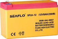 Valve regulated maintenance free lead acid storage battery12V8Ah