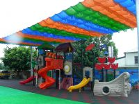 colorful sunshade net for decorative,celebration,swimming pool,roofs