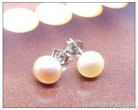 925 Sterling Silver Fresh Water Pearl Stud Earring