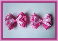 hand made  hair ribbon