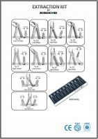 Extracting Forceps, Root  Elevators, Needle Holders TC Kits