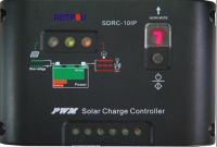 10A 12V Half power solar charge controller