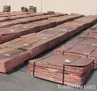 Sell COPPER CATHODES