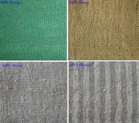 100% Hemp fabrics, 65% Hemp, 35% Cotton Fabrics, 55%  Hemp  45% cotton