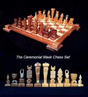 Jim Arnold's Hand Carved Custom Chess Sets