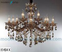 elegant crystal pendant lamp