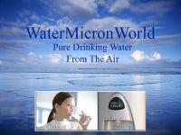 Atmospheric Water Generators- Makes Pure Drinking Water