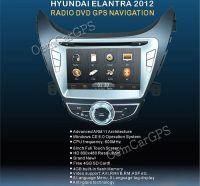 2011 2012 Hyundai Elantra Car DVD GPS Navigation Radio Headunit Stereo