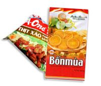 Packagings for Food and Confectionary products